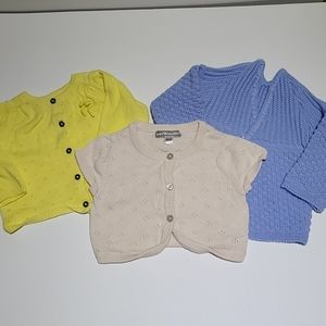 3-6M Baby Girl Sweater lot